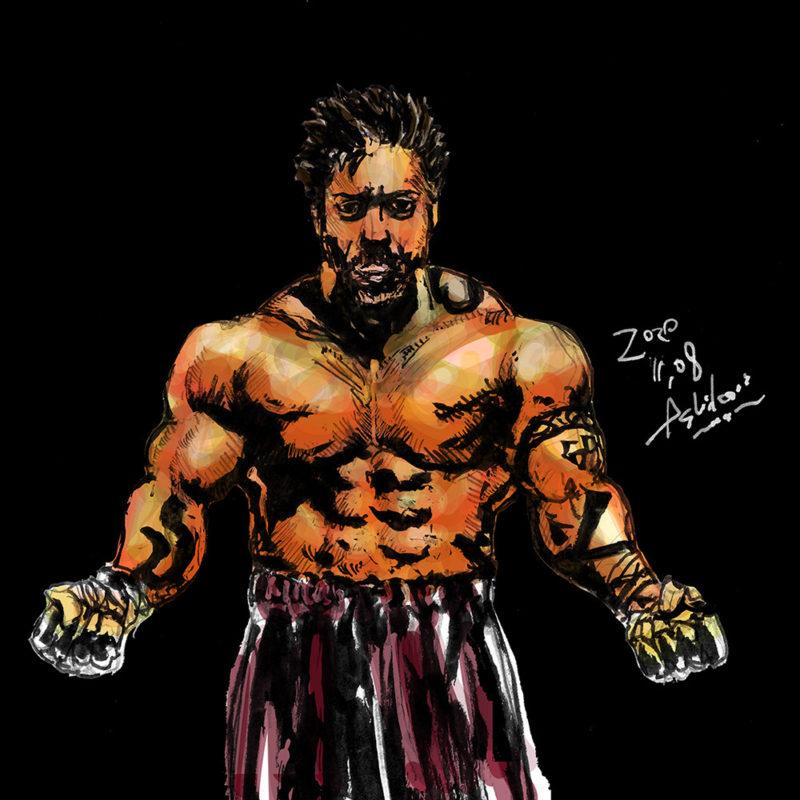 ボクシング 格闘技 スポーツ イラスト