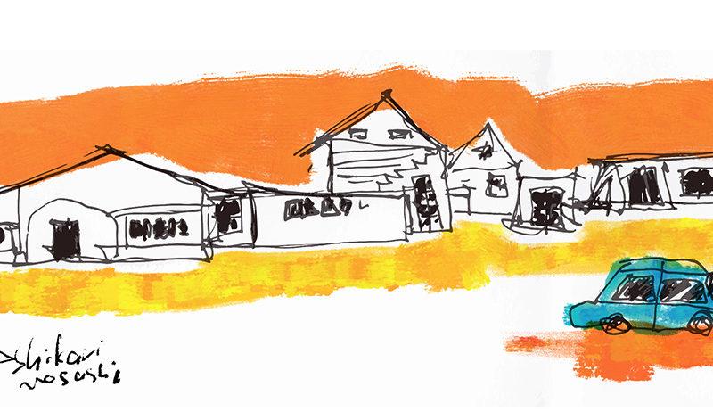 町並み アート 風景